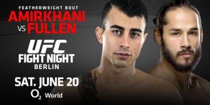 Amirkhani vs Fullen UFC Berlin MMA Crazy