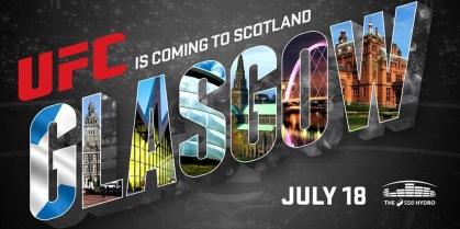 UFC Fight Night Glasgow MMA Crazy