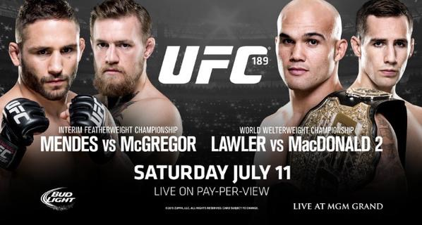 UFC 189 COnference Call MMA Crazy TV