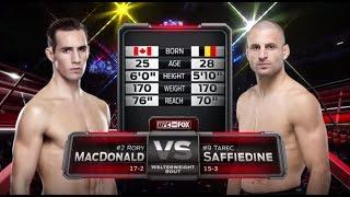 Rory MacDonald UFC 189 MMA Crazy TV
