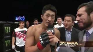 UFC Fight Night Seoul: Dong Hyun Kim Octagon Interview
