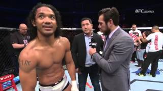 UFC Fight Night Seoul: Benson Henderson and Jorge Masvidal Octagon Interview