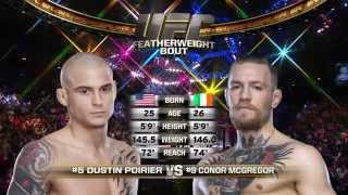 Watch Conor McGregor take on Dustin Poirier at UFC 178