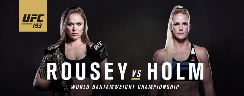 UFC 193 Results