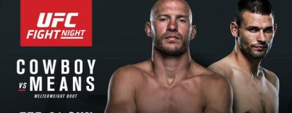 Donald Cerrone to face Tim Means at UFC Pittsburgh Feb.21