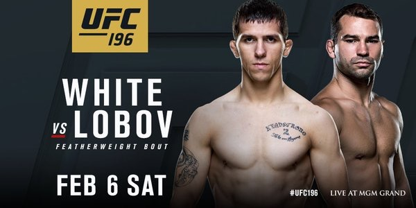Artem Lobov set to face Alex White at UFC 196 Feb.6 in Las Vegas